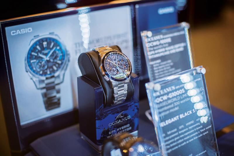 G-FACTORY Premium Store menawarkan koleksi premium daripada Casio, seperti rangkaian elit Oceanus yang eksklusif.