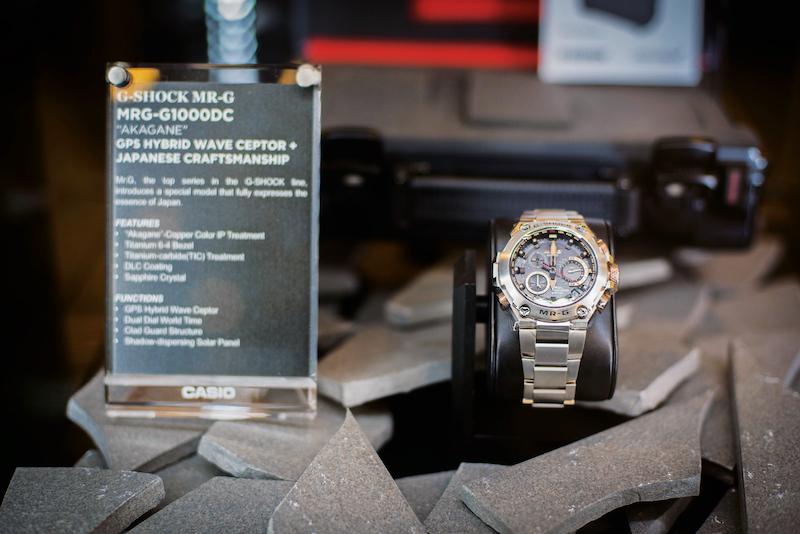 Casio Malaysia dengan bangganya memperkenalkan G-SHOCK MRG-G1000DC serba baru, model jam tangan terkini daripada siri MR-G