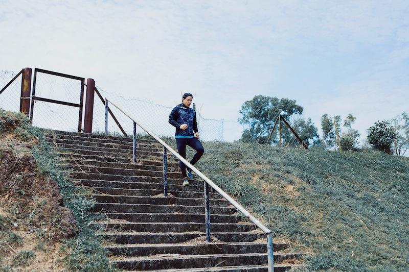 Run Up & Down Stairs