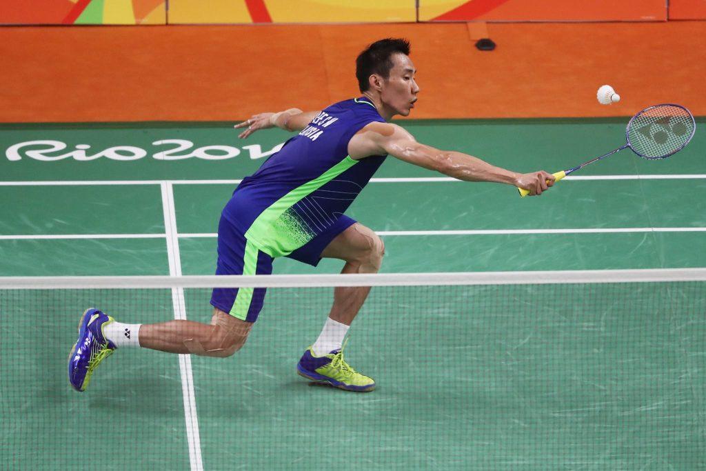 Glam Lelaki badminton Lee Chong Wei Olimpik