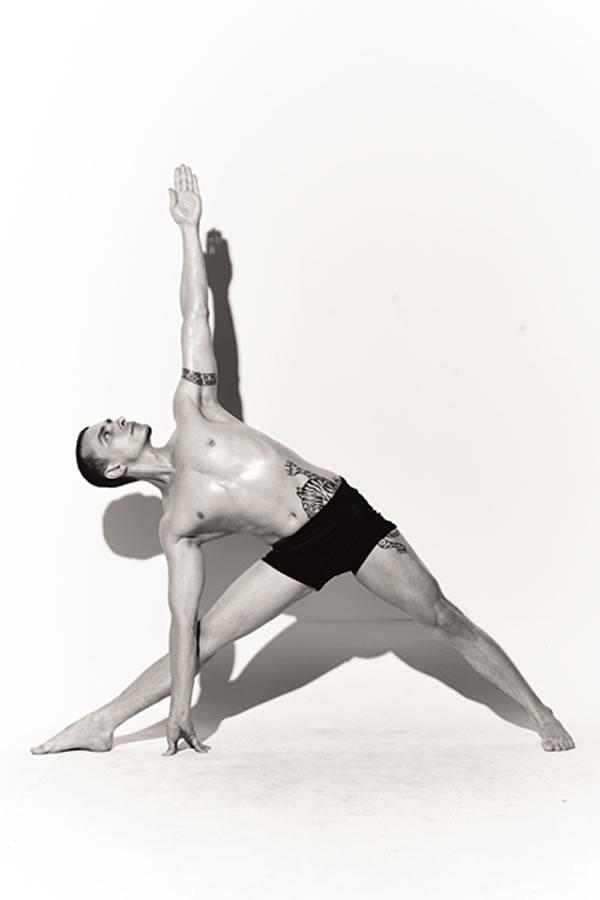 yoga - TRIKONASANA