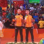 Badminton: Beregu Lelaki Malaysia Raih Pingat Perak di Olimpik Rio