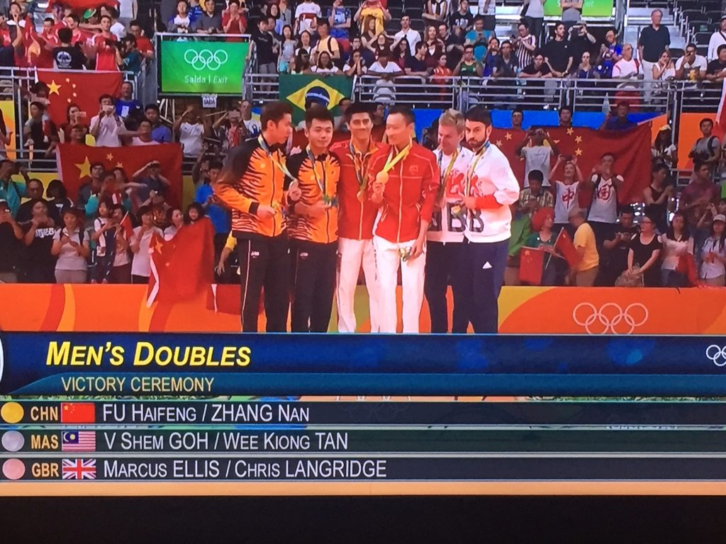 Glam Lelaki Badminton Olimpik