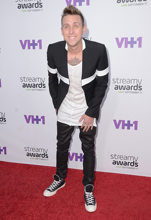 17 September 2015 - Hollywood, California - Roman Atwood. Arrivals for the 5th Annual Streamy Awards presented by Tubelifter, Dick Clark Productions and VH1 held at Hollywood Palladium. Photo Credit: Birdie Thompson/AdMedia Photo via Newscom