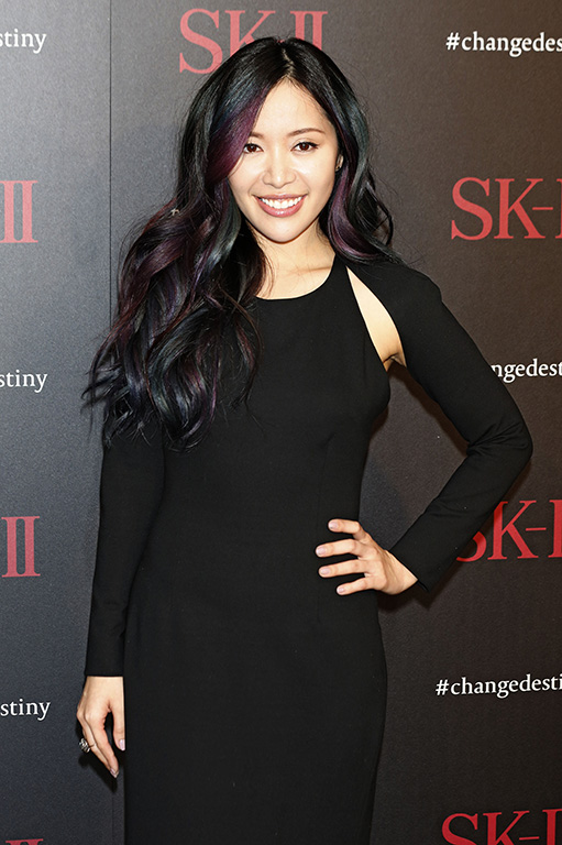 SK-II #ChangeDestiny Forum held at the Andaz Hotel Featuring: Michelle Phan Where: Los Angeles, California, United States When: 27 Feb 2016 Credit: Dave Bedrosian/Future Image/WENN.com **Not available for publication in Germany, Poland, Russia, Hungary, Slovenia, Czech Republic, Serbia, Croatia, Slovakia**