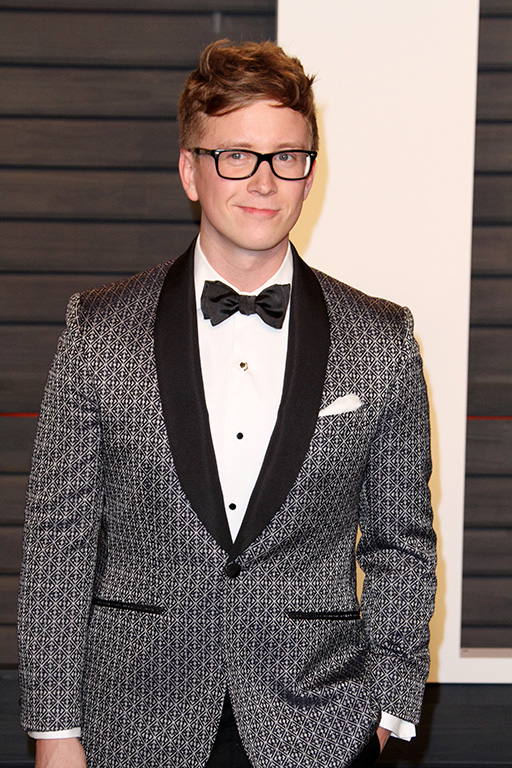 Vanity Fair Oscar Party 2016 held at the Wallis Annenberg Center for the Performing Arts in Beverly Hills Featuring: Tyler Oakley Where: Los Angeles, California, United States When: 28 Feb 2016 Credit: Adriana M. Barraza/WENN.com