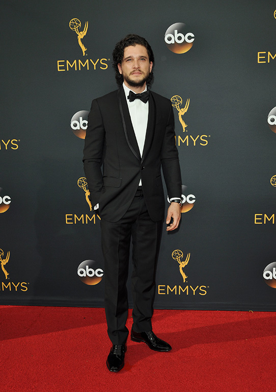 Actor Kit Harington arrives for the 68th annual Primetime Emmy Awards at Microsoft Theater in Los Angeles on September 18, 2016. Photo by Christine Chew/UPI Photo via Newscom