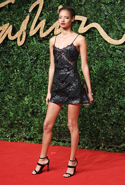 The British Fashion Awards 2015 - Arrivals Featuring: Malaika Firth Where: London, United Kingdom When: 23 Nov 2015 Credit: Lia Toby/WENN.com
