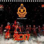 KALENDAR 2017 'ABANG BOMBA' KEMBALI DENGAN KONSEP LEBIH 'PANAS'