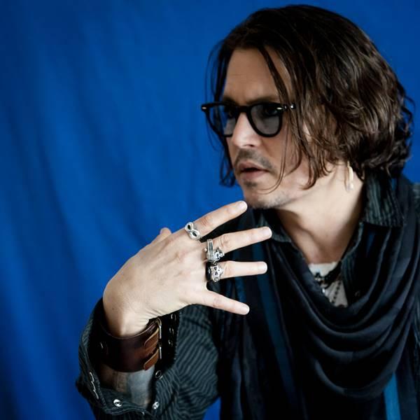 April 29, 2012 - Hollywood, California, U.S. - Actor Johnny Depp of the film ''Dark Shadows'' in Los Angeles, CA on April 29, 2012 (Credit Image: © Armando Gallo/Arga Images via ZUMA Studio)