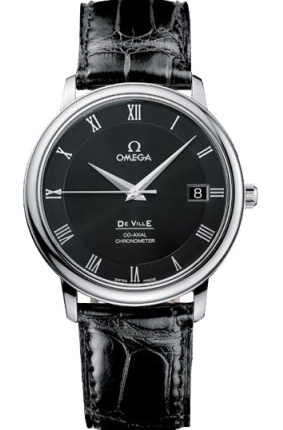 Formal-Steel-Cases-Omega-De-Ville-Copy-Watches-By-Kim-Jong-un
