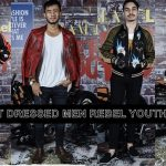 THE BEST-DRESSED MEN DI GLAM X GLAM LELAKI REBEL YOUTH PARTY