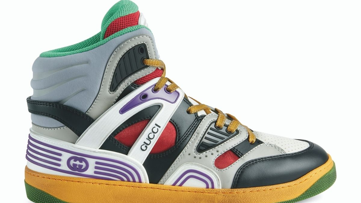 GUCCI BASKET, HIGH-TOP TRAINERS YANG COOL